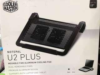 COOLER MASTER NotePal U2 Plus Movable Aluminum Cooling Pad