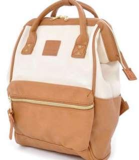 Anello Leather Bag Backpack