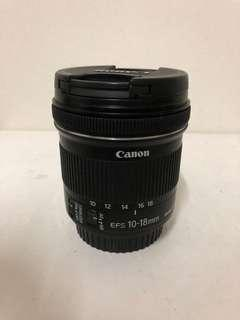 Canon EFS 10-18mm IS STM