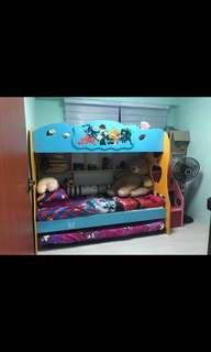 Used 9mths kids bed