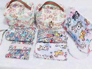 Customized Tokidoki Inspired Prints Bags