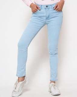 Connexion Skinny Denim Celana jeans Wanita