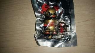 Qee Series 3 Designer Collection Mad Barbarians Atomic Gold bear