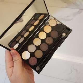 Sleek makeup eyeshadow eye shadow palette au naturel 601