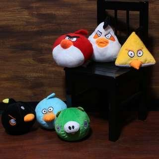 Angry Birds  AngryBird collectors Collectible Set Plush Toys/Stuff Toys