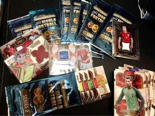 足球卡 抽獎包裝 有球衣 Football Cards Pack with Jersey cards