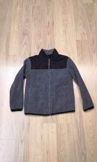 Uniqlo kids fleece jacket 130