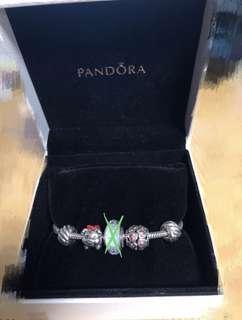 Pandora手鍊連charms