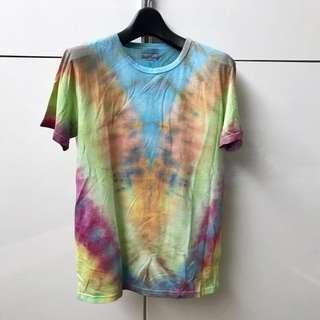 Handmade Tie Dye T-shirt (Rainbow)