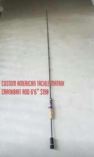 Custom Built American Tackle Matrix Fishing Rod