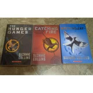 The Hunger Games series (paperback)