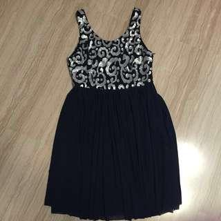 Love Bonito Sequin Cocktail Dress
