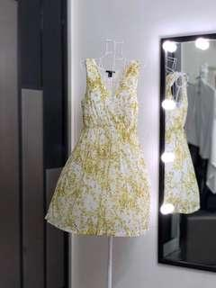 🆕H&M Summer Yellow Floral Dress