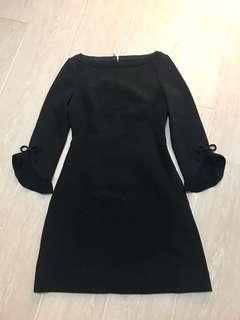 Kate Spade ♠️ boatneck flare dress