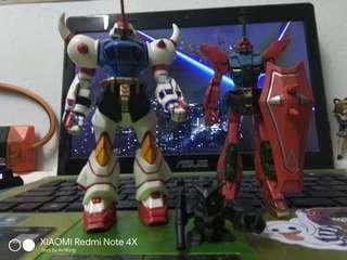 Gundam Zaku Figure Toys Lot Combo