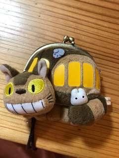 🚚 龍貓 貓咪公車 宮崎駿 零錢包 隨身包 側背包