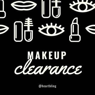 New & Used Makeup Clearance