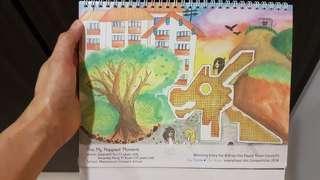 Bishan-TPY Town Council 2019 Table Calendar