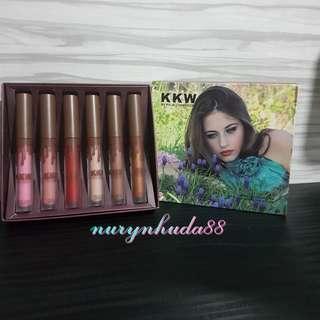 Kylie KKW Lipstick Matte Set