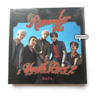 [W POSTER / SEALED INSTOCKS] DAY6 Youth Part 2 Remember Us