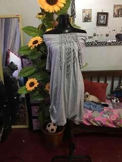 Layers gray dress