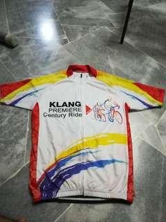 Men's cycling jersey size L