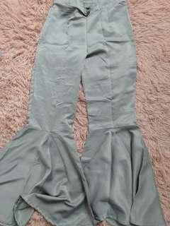 Palazo bootcut pants