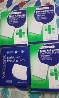 🚚 Non-adherent Dressing Pads & Cushioned Dressing Pads