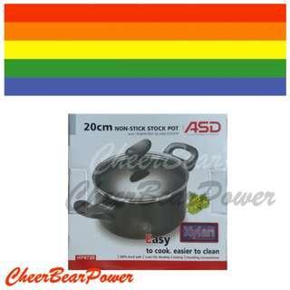 BNIB ASD 20 cm non-stick Stock Pot HP8720
