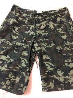 迷彩短褲『薄身』