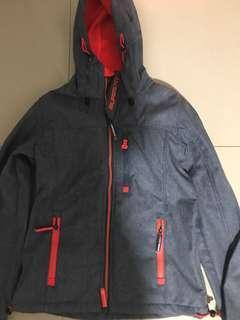 SuperDry fleece waterproof jacket