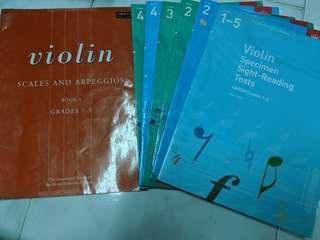 Abrsm violin book. Vol1-5
