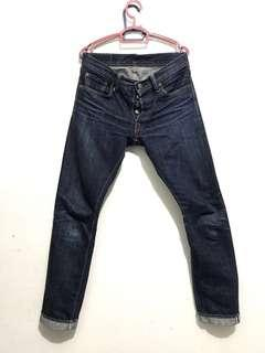Pure Blue Japan denim 14oz. Slim Straight XX-005