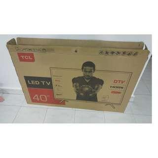 """TCL LED 40"""" Empty TV Box (Reserved)"""