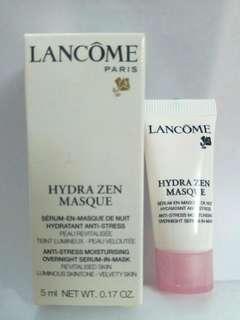 Lancome 保濕面膜 overnight serum-in-mask