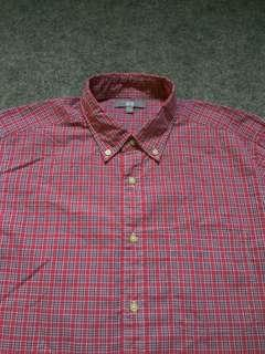 UNIQLO Button-down Plaid Shirt Long Sleeve Size L