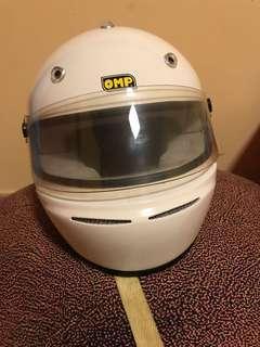 OMP helmet for car