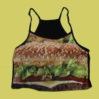 Burger crop tank