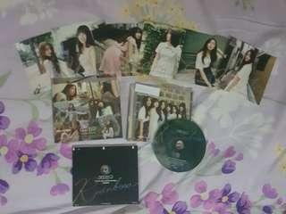 WTS Gfriend Rainbow Repackage Album