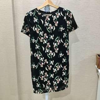Zalora floral print dress