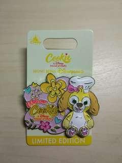 Disney pin 迪士尼襟章 徽章 Cookies