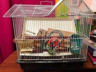 Bird Cage (w/ accessories)
