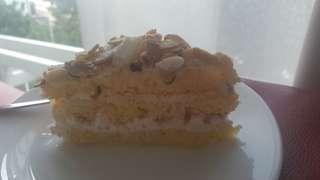 Pralin cake