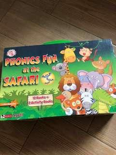 Phonics Fun at the Safari