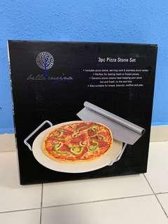 3 pcs Pizza Stone Set