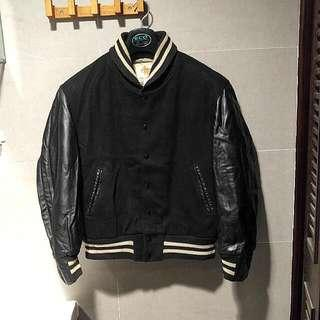 Golden Bear baseball leather jacket Made in USA