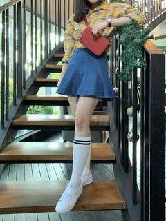 Checkered Skirt/Skort