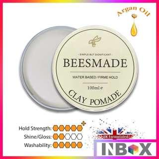 🚚 Beesmade 100ml Clay Pomade