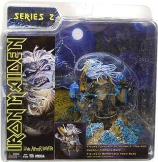 Neca iron maiden live after death action figure toy collectible statue