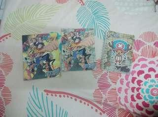 Notepad book one piece
